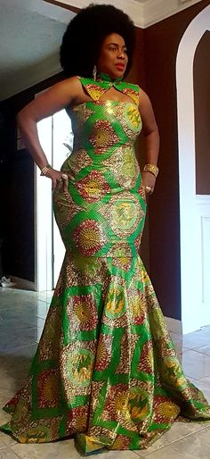 Discover recipes, home ideas, style inspiration and other ideas to try. African Bridesmaid Dresses, African Dresses For Kids, African Maxi Dresses, African Fashion Ankara, Latest African Fashion Dresses, African Print Fashion, African Attire, African Print Dress Designs, Ankara Long Gown Styles