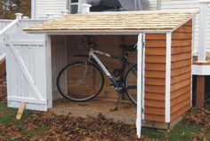 DIY Bike Shed | My bicycle/snowblower shed-bike-shed2.jpg