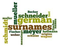 German Surname Meanings & Origins - Top 50 Last Names