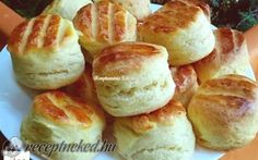 Érdekel a receptje? Kattints a képre! Serbian Recipes, Hungarian Recipes, Pretzel Bites, Biscuits, French Toast, Muffin, Food And Drink, Bread, Cookies