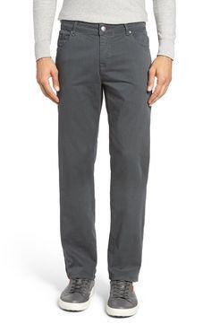 Bugatchi Bugatchi Slim Fit Five-Pocket Pants available at #Nordstrom