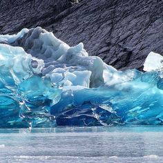 The Los Glaciares National Park is named after the vast expansive glaciers that make up the Ice Caps - the largest continental ice extension after Antarctica.