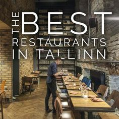 Best restaurants in Tallinn? I visit Tallinn frequently, and these are the ones I love. See if you agree! Tallit, Best B, French Bistro, Food Concept, Tasting Menu, No One Loves Me, Old Town, Good Music, The Good Place