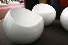 Pouf Ball Chair Blanc - XL Boom   Furniture   Pinterest   Ball chair
