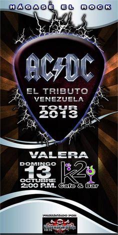 «HÁGASE EL ROCK AC/DC EL TRIBUTO» EN VALERA EL 13/10