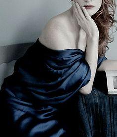 """Work for Art"": Jessica Chastain by Annie Leibovitz for Vogue US December 2013"