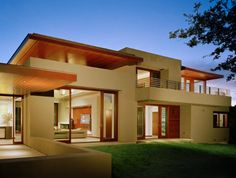 Rumah Mewah Dengan Desain Modern Terbaru | Desain, Denah, Gambar Rumah Minimalis Modern