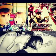 That is so cute justin is probably the best brother ever. <3 love ya justin