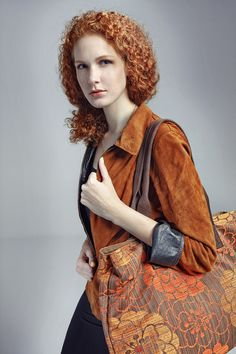 Bag city / two-chamber / beautiful redhead Col from Jasmin Zäsar by DaWanda.com