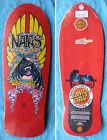 NEW NATAS SANTA MONICA AIRLINES REISSUE SKATEBOARD DECK SANTZ CRUZ POWELL - Airlines, Cruz, DECK, Monica, Natas, Powell, REISSUE, Santa, SANTZ, Skateboard