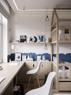 new ideas home studio room inspiration Room Furniture Design, Kids Bedroom Furniture, Room Interior Design, Kids Room Design, Bedroom Boys, Furniture Nyc, Blue Bedroom, Design Bedroom, Cheap Furniture