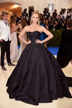 Candice Swanepoel at the Met Gala 2017