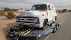 56 Ford Truck, Panel Truck, Old Cars, Trucks, Vehicles, Tools, Instruments, Truck, Car