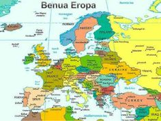 nama negara benua eropa