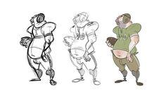 Trevor Hunter ✤    CHARACTER DESIGN REFERENCES   キャラクターデザイン • Find more at…