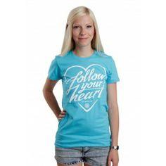 Peta2 - Follow Your Heart Turquoise - Girly - Peta2 - Merchandise Online Shop - dancitee.com - versandkostenfrei