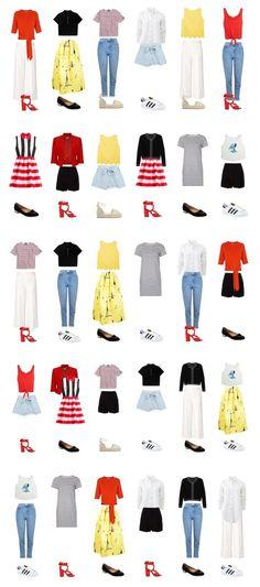 Капсульный гардероб на лето: 30 образов из 20 вещей на www.wearnissage.com / Capsule wardrobe for summer: 20 pieces - 30 outfits on www.wearnissage.com #capsulewardrobe #summer #summerwardrobe #20pieceswardrobe #style #classic #капсульныйгардероб #стиль #outfits #мода