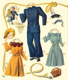 Miss Missy Paper Dolls: Navy Scouts