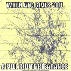 #atc #aviation #flying #fullrouteclearance