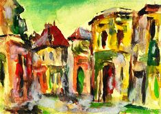 Bucharest Art Print featuring the painting Bucharest by Cuiava Laurentiu Thing 1, Bucharest, All Print, Fine Art America, Wall Art, Prints, Cities, Painting, Image