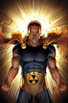 Hyperion - Leader of the Squadron Supreme and Superman rip-off.