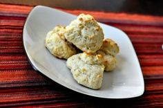 Basic olive oil biscuits. infuse the olive oil with a mixture of herbs and spices to give it a richer flavor, better than butter