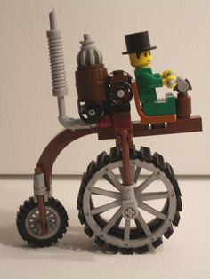 I had to include! Steampunk Lego, Steampunk Crafts, Steampunk Cosplay, Steampunk Design, Steampunk Fashion, Steampunk Images, Van Lego, Steampunk Festival, Lego Construction