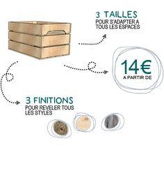 La caisse en bois de Simply a Box idéal pour le rangement, la décoration et composer vos propres meubles ! - Simply a Box