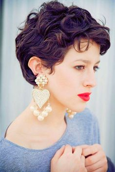 Short Curly Pixie Hairstyles | Curly Short Hairstyles