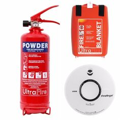 Basic Home Fire Safety Pack - Free & Fast Delivery
