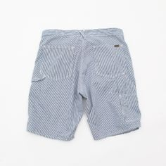 orSlow Painter shorts - Hickory Stripe - Silver and Gold Online Store