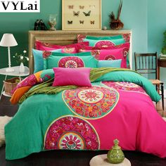 Find More Bedding Sets Information about Organic cotton luxury boho bedding sets king queen size bohemian quilt duvet cover bedsets bed sheets in a bag quilt linen,High Quality bed fitted sheet,China bed sheet silk Suppliers, Cheap bed shoes from Shenzhen VYLai exporter co.,ltd on Aliexpress.com