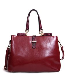 Burgundy Bettine Tote @Pascale De Groof