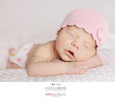 Sleeping new born