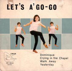 theswinginsixties:    Charlie & His Go-Go Boys, 'Let's A Go-Go' - 1960s record cover art.