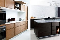 Design Within Reach tried to make the move into customized kitchen cabinets! The collection, by designer Nilus de Matran.