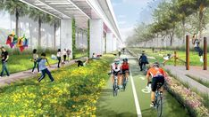 JCFO, the company behind New York's High Line, has been selected to transform land below the city's Metrorail into a linear park and urban trail. The planned use of existing rail infrastructure for the Miami Underline mirrors its London namesake and the New York Lowline.