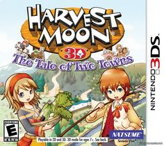 Harvest Moon The Tale of Two Towns (3DS)