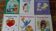 GIANT-FIRST-START-READERS-Troll-Grolier-Home-School-6-Childrens-Books-Hardcover
