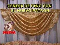 Diy Curtains, Scalloped Edge, Ideas Para, Swag, Youtube, Love, Balloon Curtains, Curtain Patterns, Make Curtains
