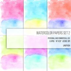 SALE! Watercolor Papers. Digital papers. Watercolor backgrounds, Neon Colors. Stained background Textured Abstract Art modern minimalist by LinePush on Etsy abstract art pastel wallpapers