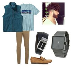 """""""Mens-Wear"""" by haley-grace-brand on Polyvore featuring Brioni, Patagonia, Tomas Maier, BOSS Hugo Boss, Nixon, mens, men, men's wear, mens wear and male"""