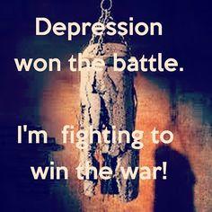 #WorldMentalHealthDay #MentalIllnessFeelsLike a constant fight which i sometimes cannot win http://ift.tt/2e0Dgvj
