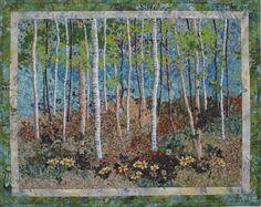 I love landscape quilts