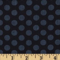 More This n That Gum Drops Ebony from @fabricdotcom  Designed by Nancy Halverson for Benartex, this cotton print is perfect for quilting, apparel and home decor accents.  Colors include black and grey.