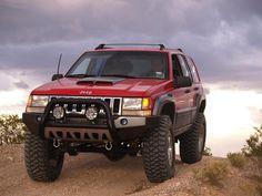 Lifted ZJ. favorite jeep cherokee