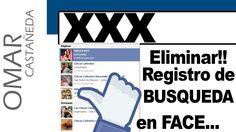 ELIMINAR REGISTRO DE BUSQUEDA EN FACEBOOK
