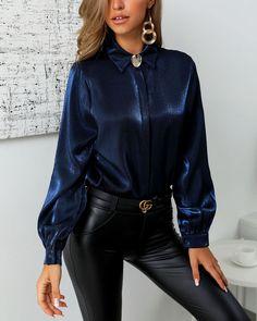 Women's Fashion Tops Online Shopping – Boutiquefeel Estilo Fashion, Look Fashion, Fashion Outfits, Hipster Fashion, Fashion 2018, Modest Fashion, Street Fashion, High Fashion, 50 Fashion