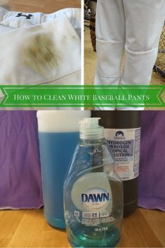 """Looking for a great """"how to clean white baseball pants? If your child plays baseball, this is a must have magic solution! Travel Baseball, Baseball Boys, Baseball Pants, Baseball Videos, Baseball Field, Softball Jerseys, Baseball Uniforms, Basketball, Diy Cleaning Products"""