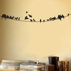 birds and books in the best of nooks.